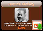 Claude McKay quotes and quotes by Claude McKay - Page : 1