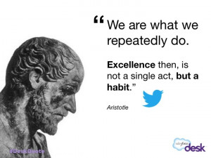 Aristotle #customerservice #quotes