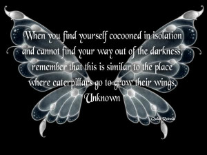 inspirational picture quote image butterfly cocoon change life advice ...