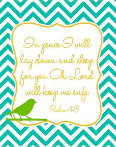 ... to sleep the night before Hope's surgery only because of this verse