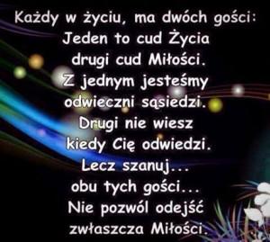 Polish love quote.
