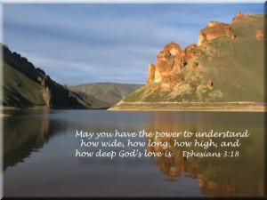 How Deep God's Love Is