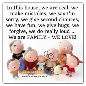 We are family-we love