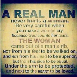 Real Man…