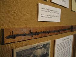 Joseph Glidden's barbed wire