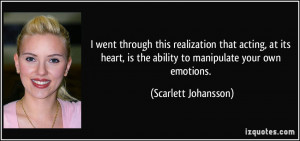 More Scarlett Johansson Quotes