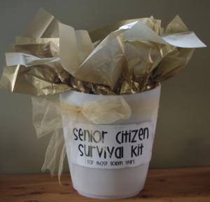 Senior Citizen Survival Kit