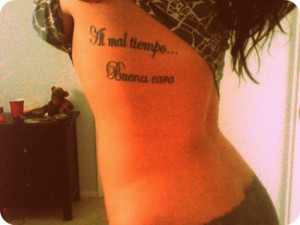 Tagged: quotes, spanish tattoos
