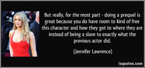More Jennifer Lawrence Quotes