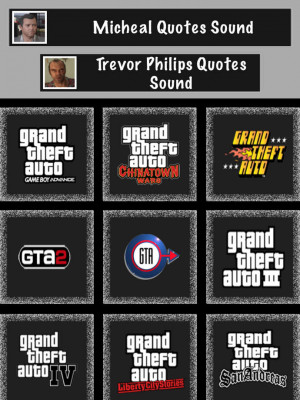 Funny Sound Quotes for GTA : Trevor Philips & Michael
