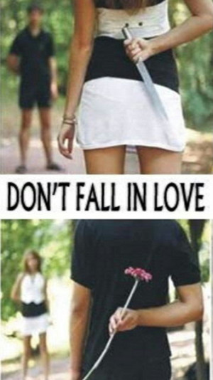 don't fall in #love