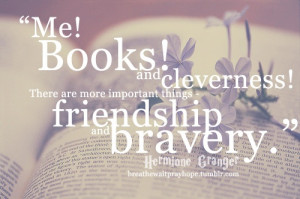 Hermione Granger quote from The Sorcerer's Stone... love it! (# ...