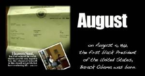 Obama Calendar Touts President as 'Heaven Sent,' Quotes John 3:16