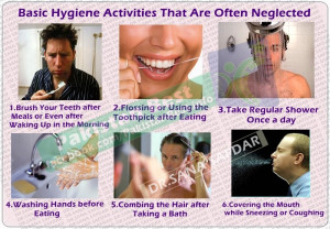 ... of Hygiene - Basic hygiene activities - Health benefits of Hygiene