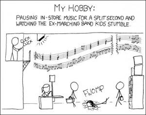 Marching Band Humor, via Pinterest