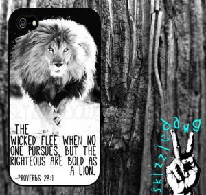 Lion Quotes Bible Lion quote bible verse apple