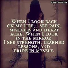 ... Moving Forward In Life And Not Looking Back When i look back - #quote