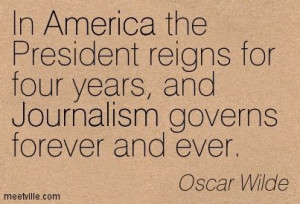 QUOTES AND SAYINGS ABOUT journalism
