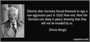 Victor Borge Quote