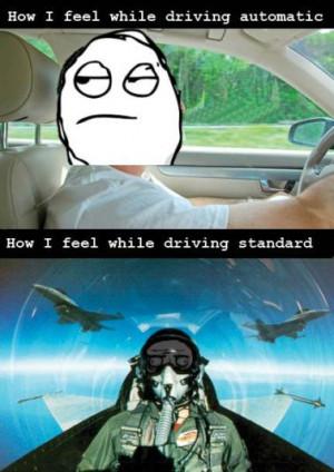 ... -street-drive-driver-Driving-automatic-vs-stick-shift-pilot-aircraft