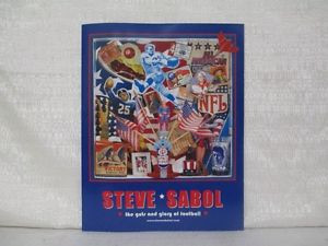 Steve Sabol NFL Films Poster The Guts and Glory of Football