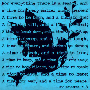time http quotespictures com for everything there is a season and a ...