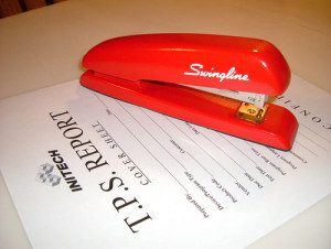 The Staples of Office Products: The Swingline Red Stapler by Jessica ...