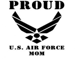 Popular items for air force mom
