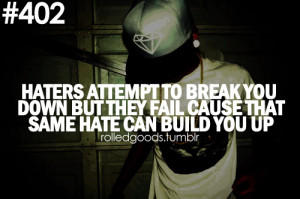 Swag Quotes Haters Swag Quotes Tumblr Haters