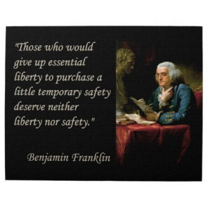 Ben Franklin on liberty and security