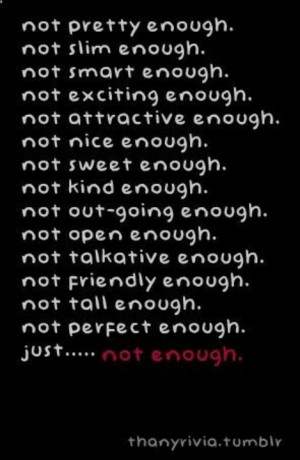 Never enough.