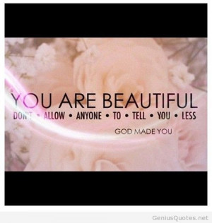 God made you Instagram quote
