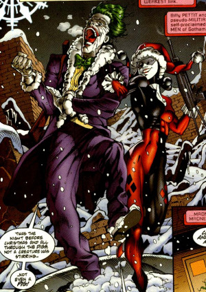 Some lovely images of Joker and Harley together. Click to see the full ...