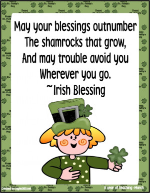 Irish blessings quotes