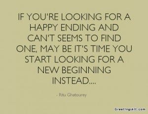 happy endings quotes