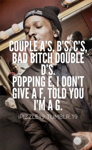 asap rocky quotes about life quotesgram