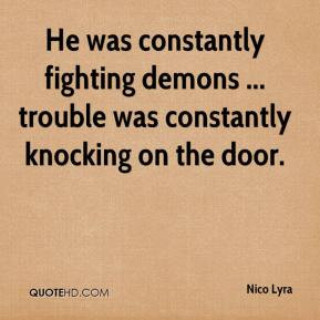 Quotes About Fighting Your Demons
