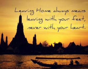 Leaving Home Quotes Leaving home. via laura fur