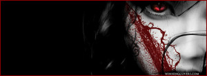 Bloody Splatter Face Facebook Timeline Cover Covers For Pro