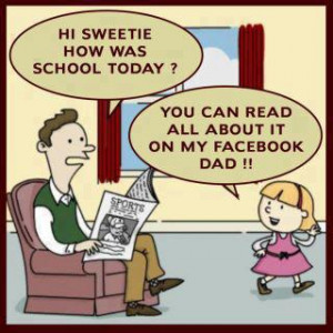 ... the Day,Effect of Facebook,Children,LOL, joke of the day, laugh, smile