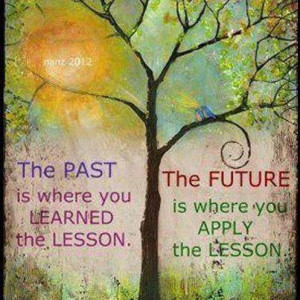 ... Wallpaper on Time : The past is where you learned the lesson