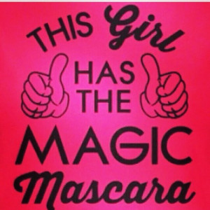 Hahahahaaa yes I do magic mascara by Younique youniqueproducts