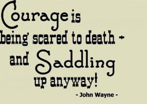 ... be really cute on the wall! Especially since he loves John Wayne