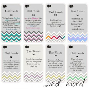 ... 4s Case with Best Friends Quote:Amazon:Cell Phones & Accessories