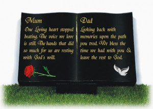 Memorial for a Mother and Father
