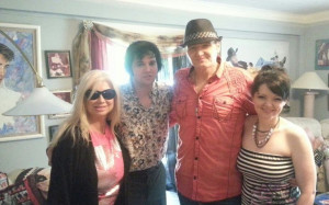 With Donny & Donna Edwards at Vernon Presley Dolan house!Donna Edward ...