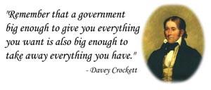 davy crockett quote mag