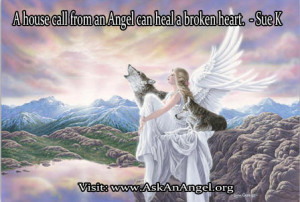 angels heal broken hearts