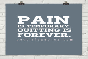 lance armstrong quotes pain is temporary quitting lasts forever