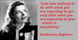 Katharine hepburn famous quotes 4